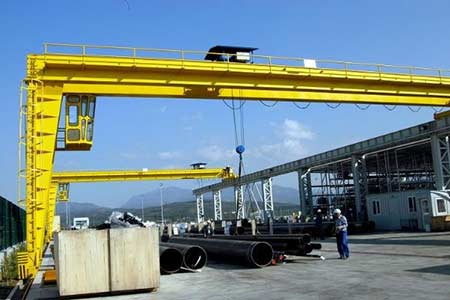 Nucleon BMHN Single and Double Girder Semi-Gantry Crane