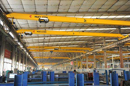 Nucleon HD European Type Single Girder Overhead Crane