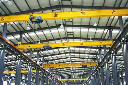 Europe Standard Single Beam Overhead Crane