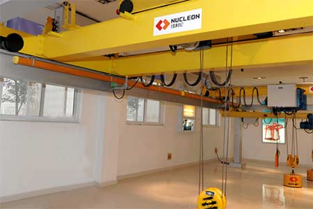 Nucleon QD Double Girder Heavy Duty Overhead Crane