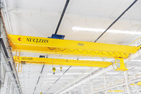 Nucleon NLH European Type Double Girder Overhead Crane